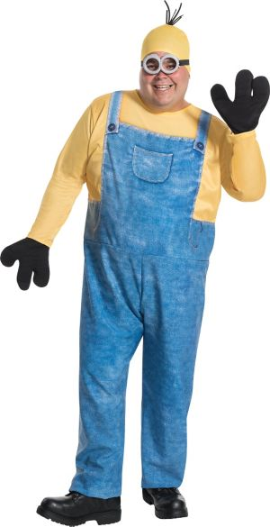 Adult Kevin Minion Costume Plus Size - Minions