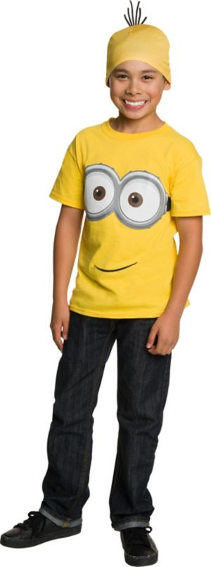 Child Minion Hat & Shirt Set - Minions Movie