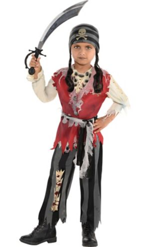 Little Boys Corpse Pirate Costume