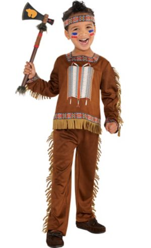 Toddler Boys Native American Costume