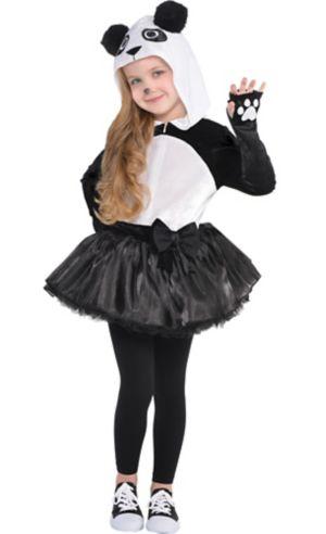 Toddler Girls Panda Costume