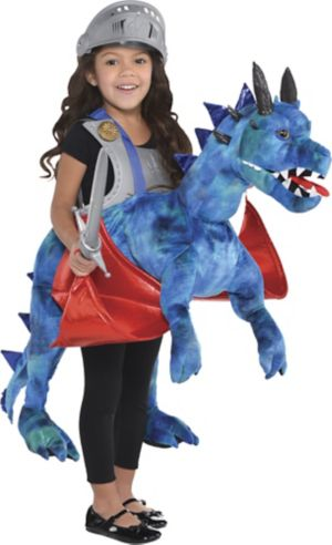 Child Dragon Ride-On Costume