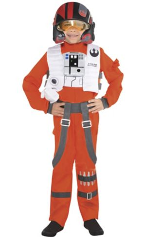Little Boys Poe Dameron Costume - Star Wars 7 The Force Awakens