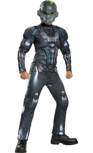 Boys Halo Spartan Locke Muscle Costume - Halo