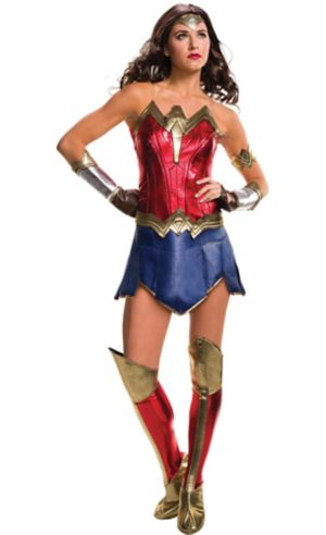 Adult Wonder Woman Costume - Batman v Superman: Dawn of Justice