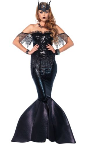 Adult Black Water Siren Costume