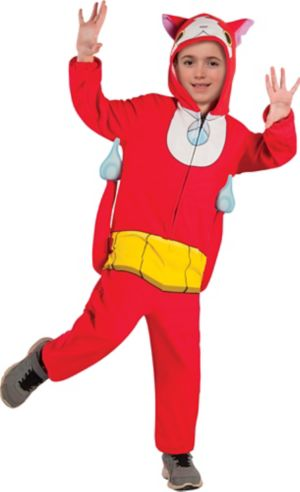 Boys Jibanyan One Piece Costume - Yo-Kai Watch