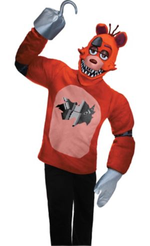 Teen Foxy Costume - Five Nights at Freddy's