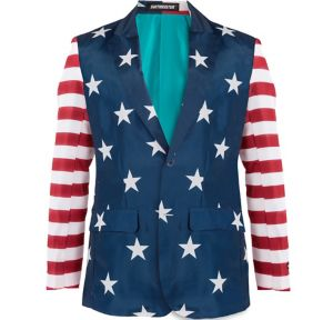 Stars & Stripes USA Suit Jacket