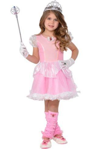 Girls Pink Princess Costume