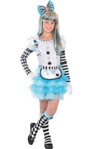 Girls Alice in Wonderland Costume Deluxe