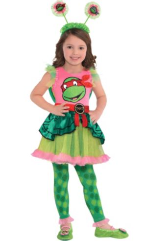 Girls Raphael Costume - Teenage Mutant Ninja Turtles