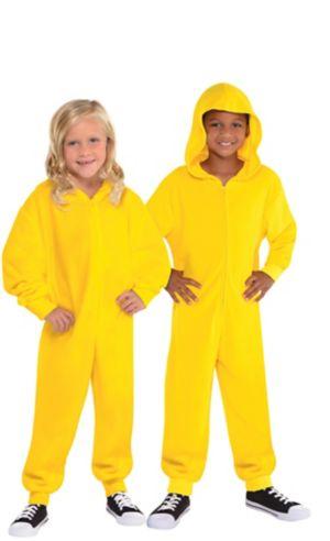 Child Zipster Yellow One Piece Costume
