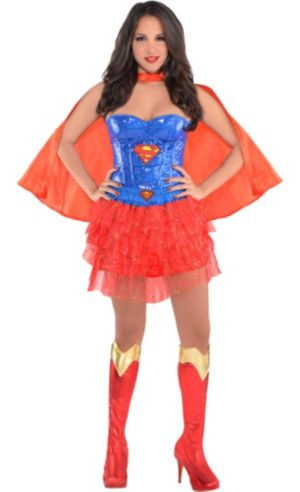 Adult Supergirl Costume Deluxe