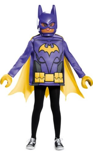 Girls Lego Batgirl Costume - Lego Batman Movie