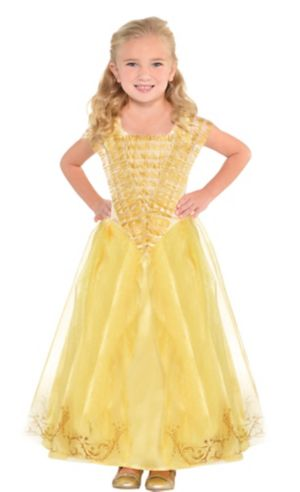 Toddler Girls Belle Costume Supreme - Beauty and the Beast