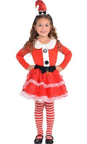 Girls Santa Costume
