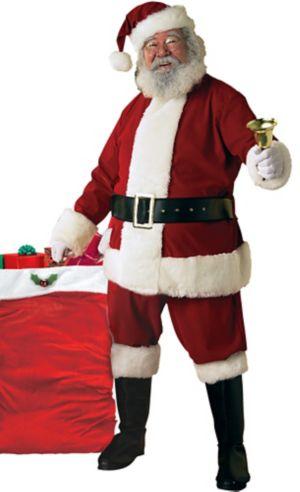 Adult Ultra Velvet Santa Suit Costume