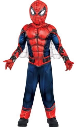 Little Boys Spider-Man Muscle Costume - Spider-Man Homecoming