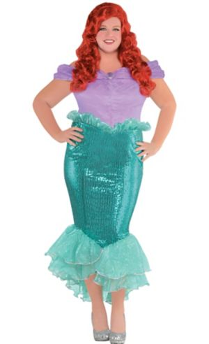 Adult Ariel Costume Plus Size - The Little Mermaid