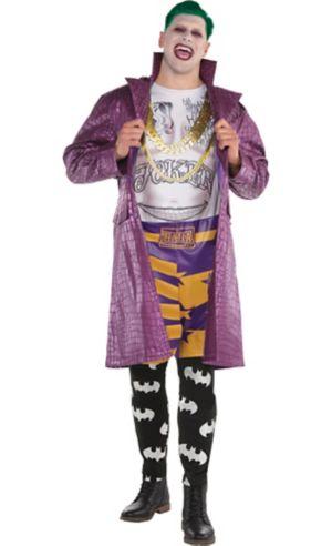 Adult Psycho Joker Costume Plus Size - Suicide Squad