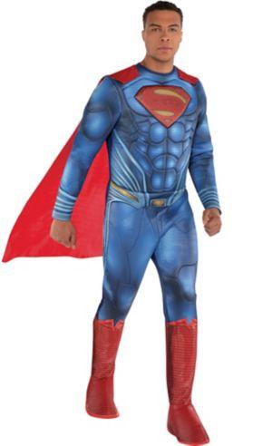Adult Superman Muscle Costume - Justice League Part 1