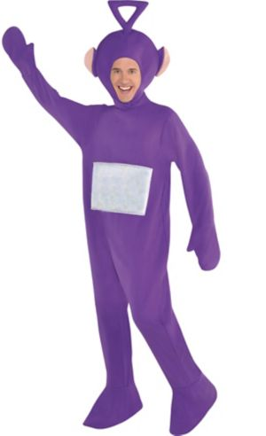 Adult Tinky Winky Costume - Teletubbies