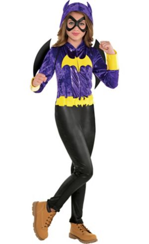 Girls Batgirl Jumpsuit Costume - DC Super Hero Girls