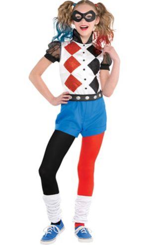 Girls Romper Harley Quinn Costume - DC Super Hero Girls