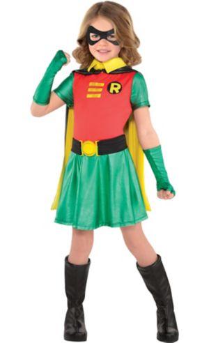 Little Girls Robin Costume - Batman
