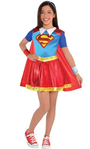 Girls Supergirl Dress Costume - DC Super Hero Girls