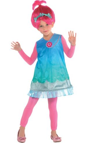 Little Girls Poppy Costume - Trolls
