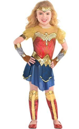 Little Girls Wonder Woman Costume - Wonder Woman Movie