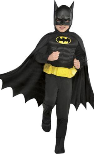 Little Boys Batman Muscle Costume