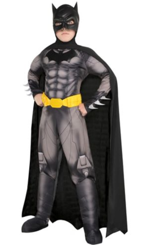 Boys Batman Muscle Costume - DC Comics New 52