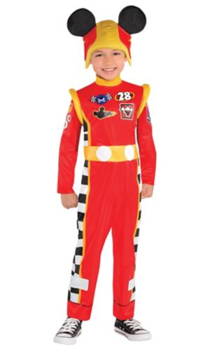 Toddler Boys Mickey Mouse Costume - Mickey and the Roadster Racers