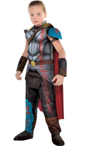Boys Thor Muscle Costume - Thor: Ragnarok