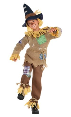 Boys Friendly Scarecrow Costume