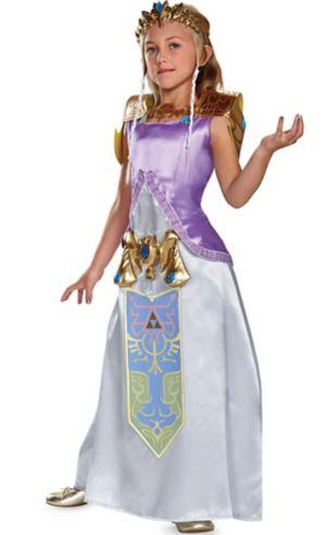 Girls Zelda Costume - The Legend of Zelda
