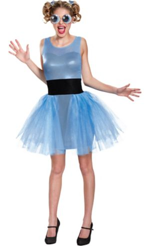 Adult Bubbles Costume - Powerpuff Girls
