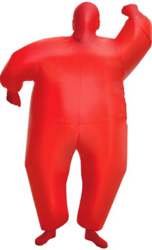 Boys Inflatable Red Morphsuit