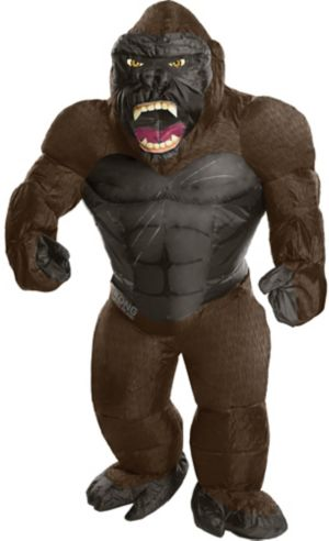 Boys Inflatable King Kong Costume - Kong: Skull Island