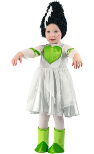 Toddler Girls Frankie's Bride Costume