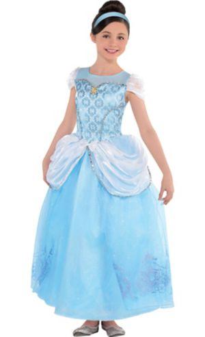 Girls Cinderella Costume