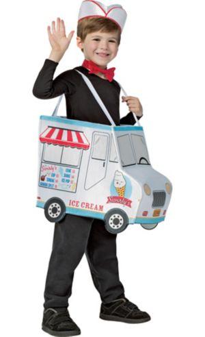 Boys Ice Cream Truck Costume