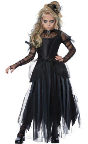 Girls Dark Princess Costume