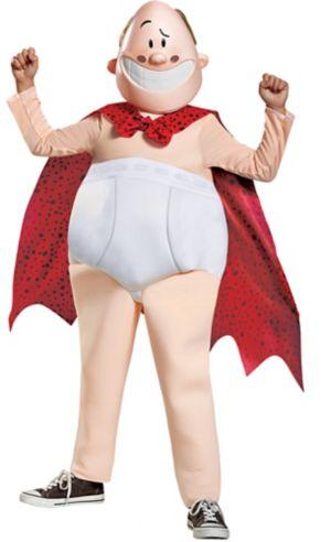 Boys Captain Underpants Costume