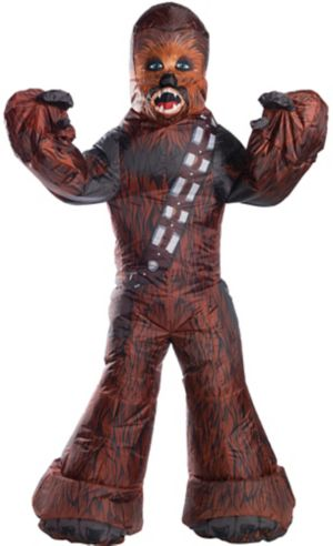 Inflatable Adult Chewbacca Costume - Star Wars