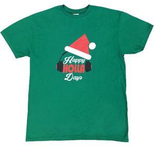 Adult Happy Holla Days T-Shirt