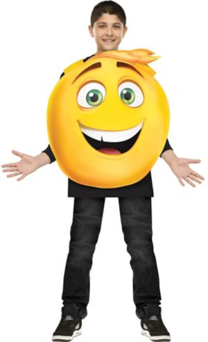 Boys Gene Costume - The Emoji Movie